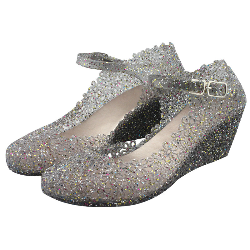 Wedges Shoes Crystal Sandals Female Breathable Femme Summer Chaussures Nest Buty Damskie