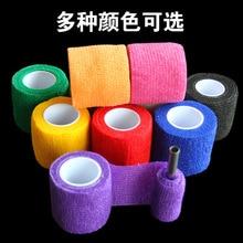 10pcs Disposable self adhesive elastic bandage 5.0CM tattoo supplies tattoo handle bandage beauty tools One time tattoo machine