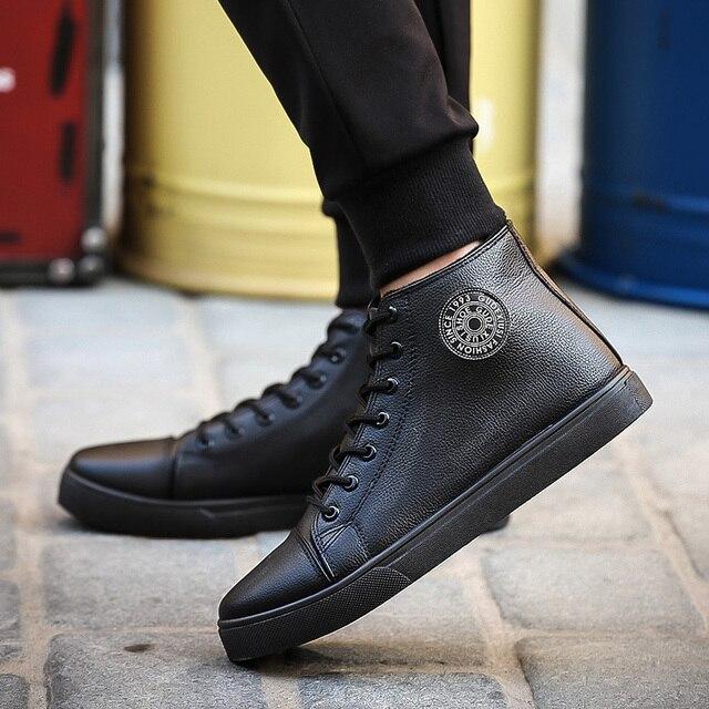 Размер 39-44 Зимние сапоги короткий плюш внутри мужчины лодыжки сапоги мода узелок Повседневная твердые мужская обувь резиновая 8603