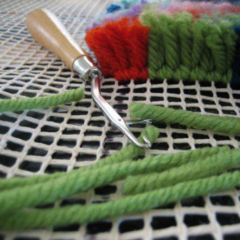 Rug Hooking Mesh Canvas Latch Hook