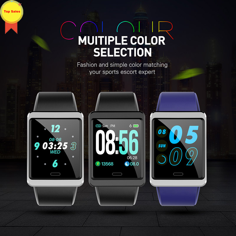 Nouvelle montre intelligente 2019 IP67 étanche pression artérielle moniteur de fréquence cardiaque SMS push Sport Fitness Bracelet Tracker bande intelligente Mi 2 3
