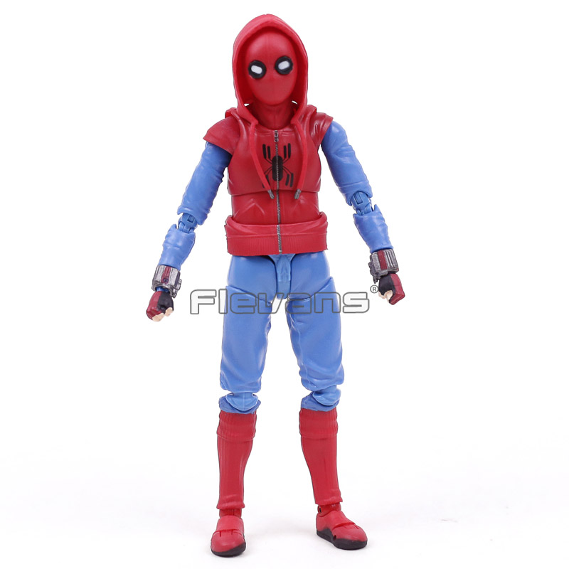 Spider Man Homecoming Spiderman Tamarshii Option Act Wall Home Made Suit Ver. PVC Action Figure Toy