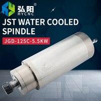 Jst 수냉식 스핀들 5.5kw 목공 석재 조각 기계 모터 부품 공장 공인 판매