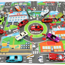 83 * 58 cm children Play Mat City Road Parking Map Game Map Educational Toys new aneta rupniewska czech republic slovakia road map isbn 978 83 7546 109 1