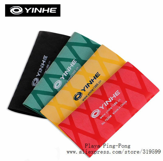 2x Yinhe table Tennis Badminton Racquet Fishing Rod Sweatband Brief Anti-Skip Stretchy Overgrips Grip Tape
