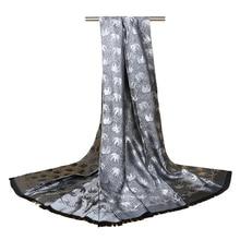Elephant Pashmina Silk Scarves