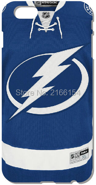 Tampa Bay Lightnings Shell Cover For iphone 10 X 4 4S 5 5S SE 5C 6 6S 7 8 Plus For iPod  ...
