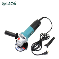 LAOA 1010W Angle Grinder lixadeira cera automotiva Industrial Grade Steering wheel Cutting Grinding Polish Sander Power Tools