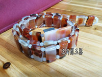 China handmade Agate carving natural red Agate belt High grade waistband