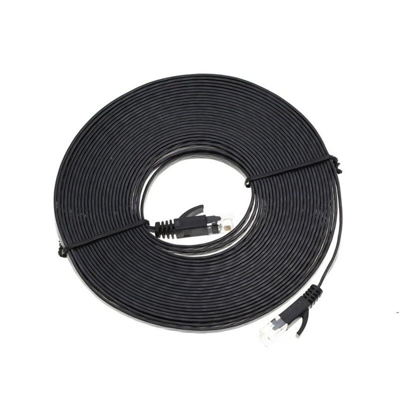 #2700 1/3/5/10/20 mt Ethernet Kabel High Speed RJ45 CAT6 Flache Ethernet netzwerk LAN Kabel Patch Router Computer Kabel