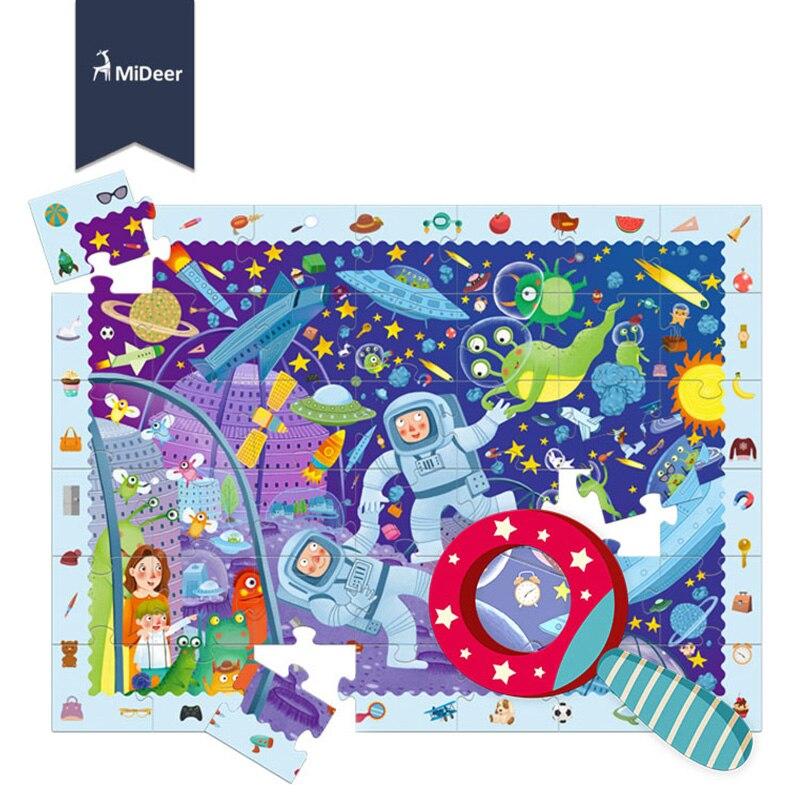 42 pcs/set Puzzle Cartoon child Toy Brain Teaser Puzzle Toys Preschool Magination Intellectual Educational Kid Toy Gift 11-405