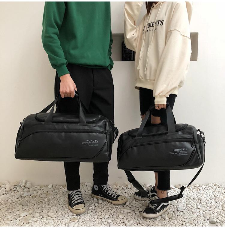 luggage handbags Men leather 16