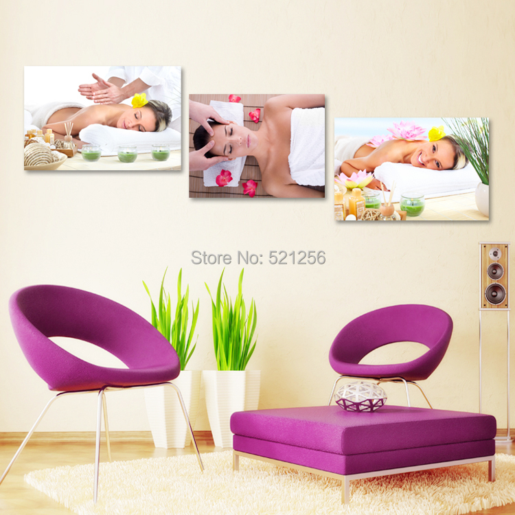 Hd Canvas Prints Picture Spa Nail Salon Store Decor Wall: Modern Wall Art Home Decoration Printed Oil Painting
