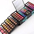Miss Rose Pro 148 Colores Paleta de Sombra de ojos Combinación Completa 3 Colores Coloretes Lip Gloss Corrector Cosmético Maquillaje Paleta