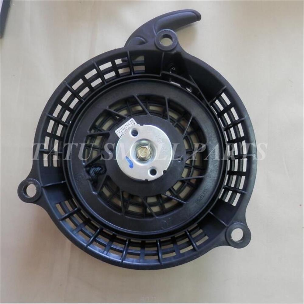 XP160 PULL START FOR ZONGSHEN 5HP 5.0hp 4 stroke VERTICAL SHAFT GT1P65 LAWN MOWER RECOIL STARTER ASSEMBLY recoil starter assembly steel ratchet od 165mm for robin ey15 series 3 5hp 4 stroke pull start 226 50211 00