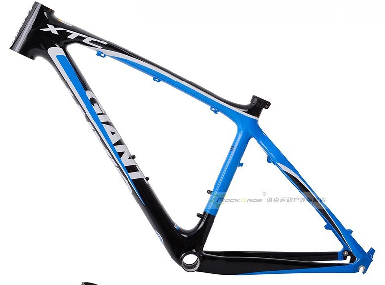 Giant Xtc Carbon Fiber Bicycle Frame Mountain Bike Super Light Mtb ...