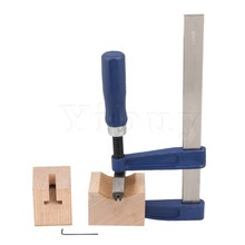 Yibuy 27.5x14CM Metal Fret Insert Luthier Press Tool with 2 Wooden Soundhole Cauls for Electric Guitar Electric Bass