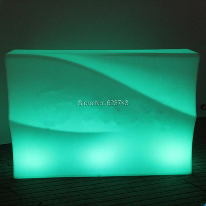 LED Break Line Bar Table Counter