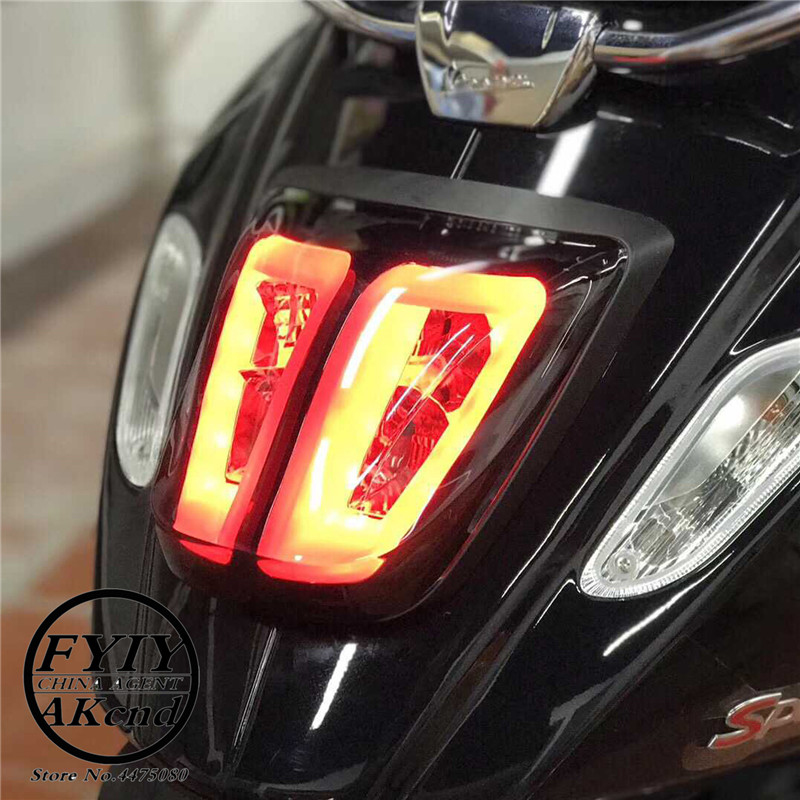 Image 5 - Rear Light LED for piaggio vespa Primavera 150 Sprint 150 Tail  Light Assembly
