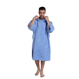 Image 2 - סופר לספוג שינוי חלוק אמבטיה, לגלוש מגבת עם הוד, אחת גודל מתאים לכל