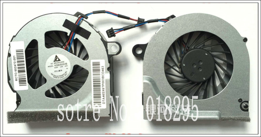 New laptop CPU fan for HP probook P/N:MF60130V1-Q010-H99 or KSB0505HB 9H37