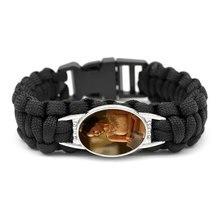 Neue stil sublimation blank armbänder heiße transfer druck gestrickte seil armband schmuck diy rohlinge verbrauchs 12 teile/los