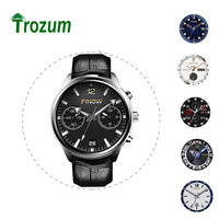 Android 5.1 3G X5 Smart Air Montre Ram 2 GB/Rom 16 GB MTK6580 Quad Core Watchphone Bluetooth Smartwatch pour Andorid/IOS