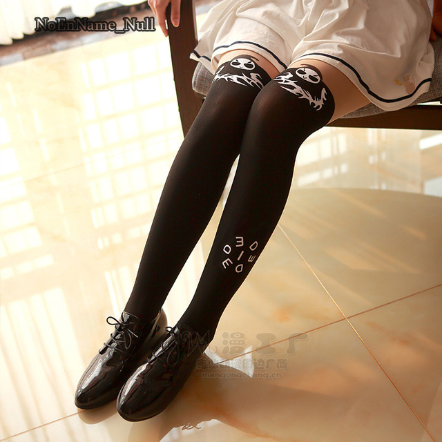 Game Cosplay Stockings D.VA White Socks Girls Women
