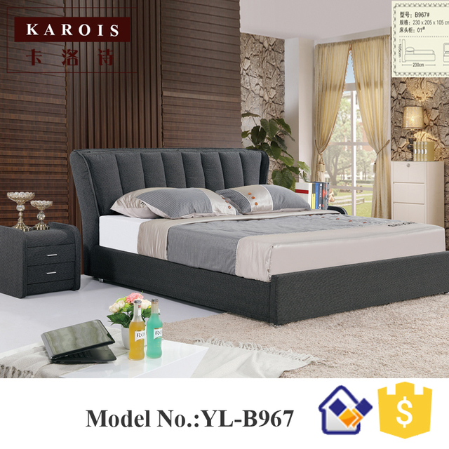 Best Selling European Bedroom Furniture Sets Home Spring Mattress Bed