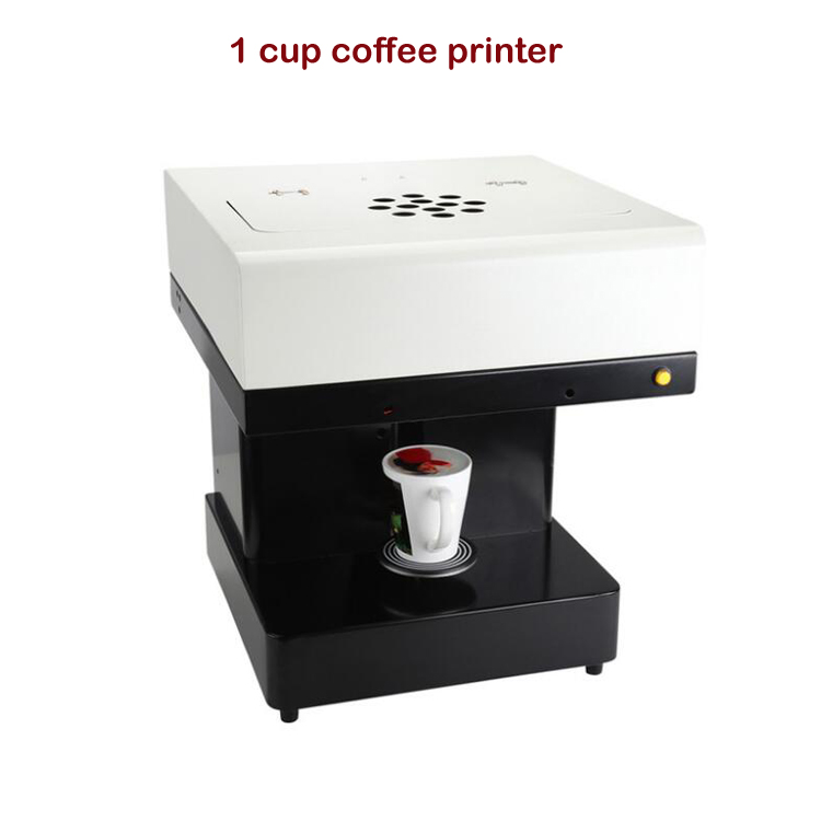 Machine d'impression de gâteau d'imprimante de café de haute qualité pour bricolage propres Logos/images