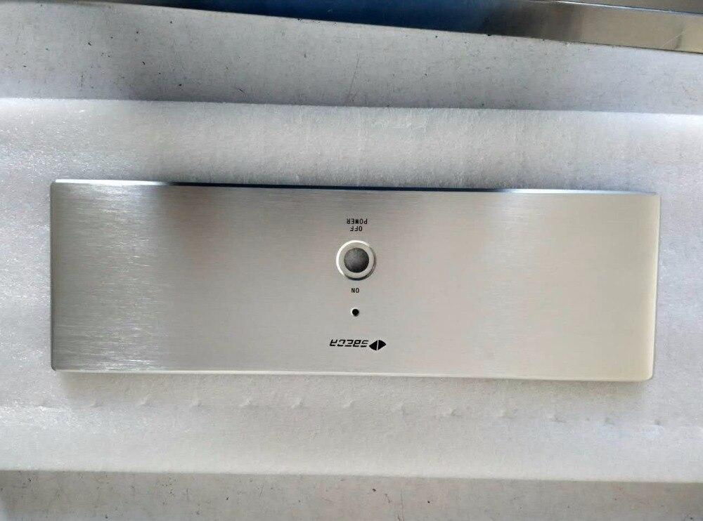 300*90*311mm plein aluminium amplificateur de puissance châssis/boîtier de radiateur externe/classe A amplificateur châssis/AMP boîtier boîtier boîtier bricolage