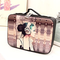 2017 New Cosmetic Bag Lady Travel Organizer Accessory Toiletry Cosmetic Make Up Holder Case Bag Korean Organizer for cosmetics