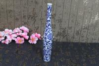 Antique Hand Painted Avalokitesvara bottle household decoration technology gift free delivery