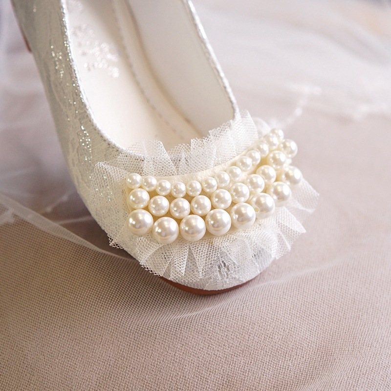 INS Style Hot Sale Girls Soft PU Leather Shoes With Antislip Sole Lace White Pearls Decor Princess Ballet Dance ShoesINS Style Hot Sale Girls Soft PU Leather Shoes With Antislip Sole Lace White Pearls Decor Princess Ballet Dance Shoes
