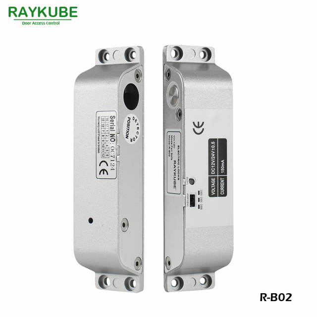 RAYKUBE Electric Mortise Lock For Door Access Control System ...
