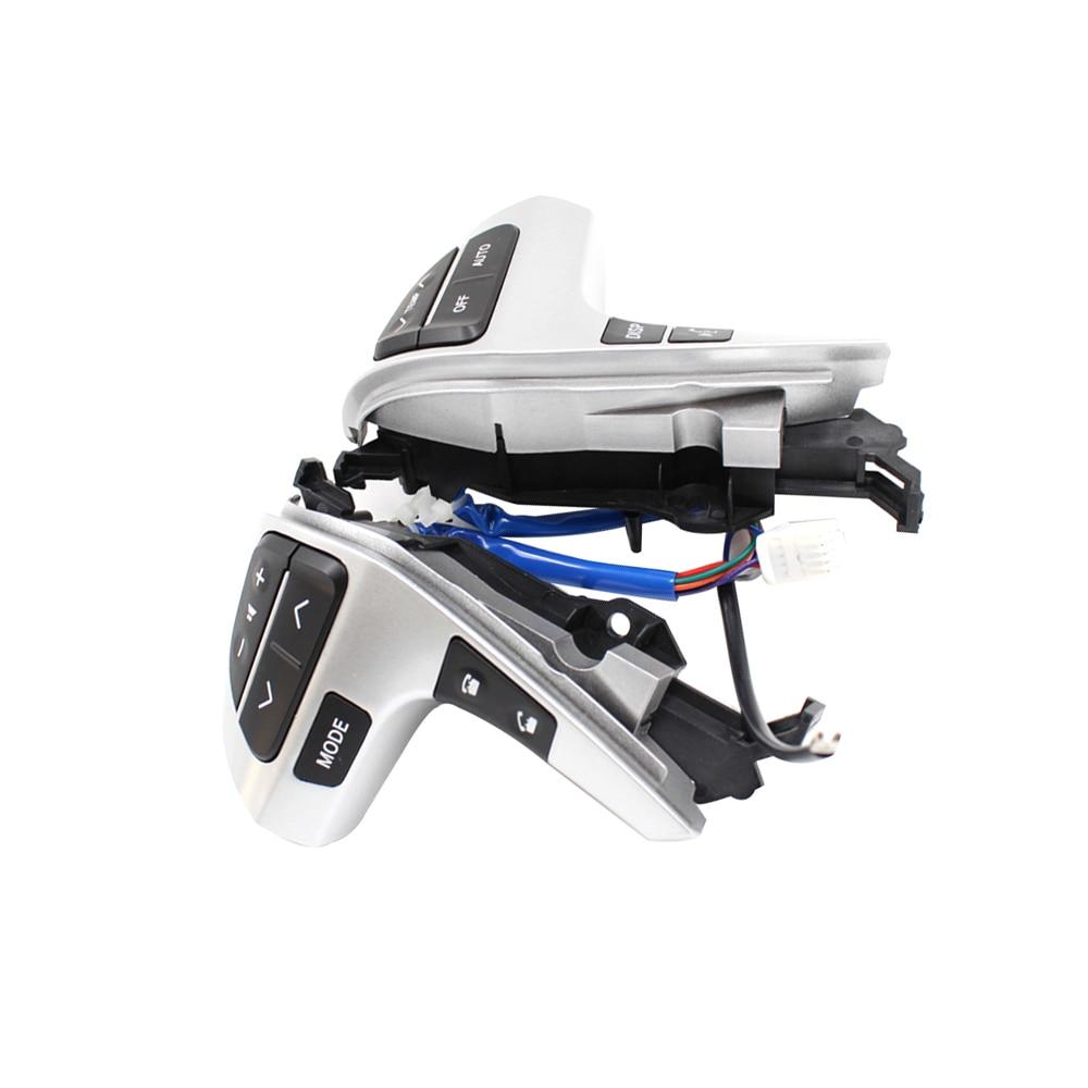 Steering Wheel Audio Control Switch 84250-0E220 842500E220 For Toyota Highlander Corolla Innova Hilux 8425002200 bluetooth steering wheel audio control switch 84250 02200 84250 12020 for toyota corolla zre15 2007 2014
