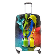 Colorfull Travel Luggage Suitcase Protective Cover