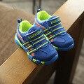 2016 зима Новый Бренд Дети Кроссовки Дети Спортивная Обувь Мальчики Мода Повседневная Обувь Горячие Продажа Корейских Девочек Обувь для бега обувь
