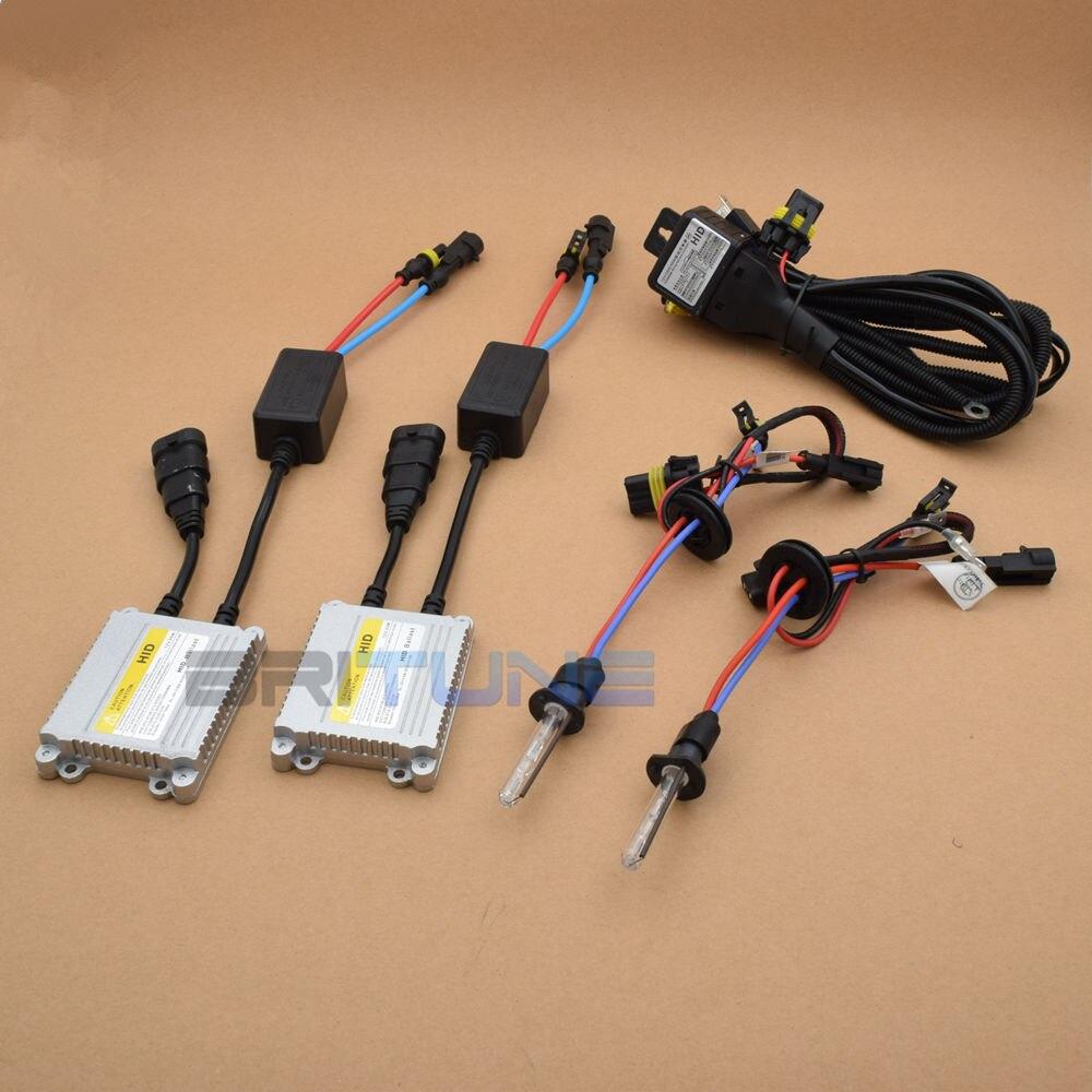 2.5 pouces mise à niveau Leader complet en métal HID phare bi-xénon projecteur lentille phare complet kit H4 H7 4300K 6000K 8000K voiture phare - 4
