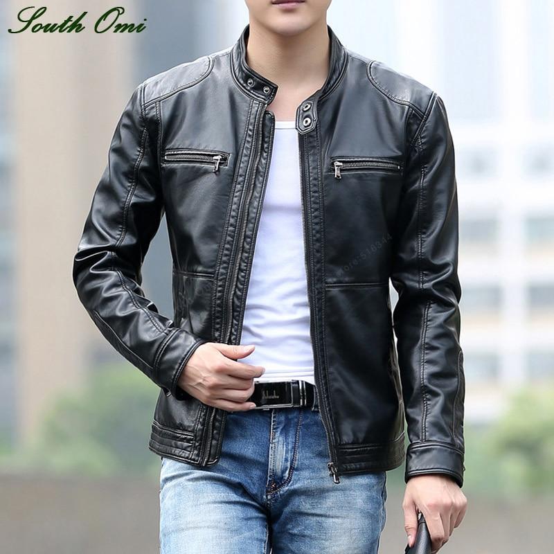 Leather Bomber Jackets For Men