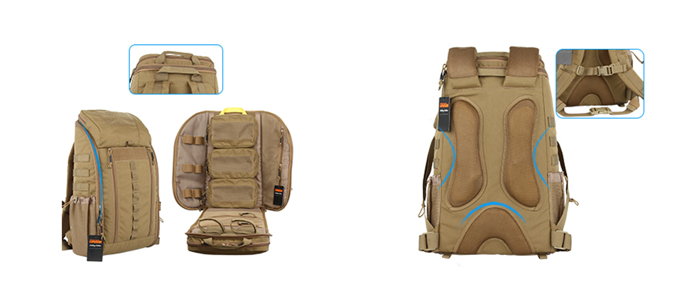 Outdoor Tactical First Aid Survival Backpack