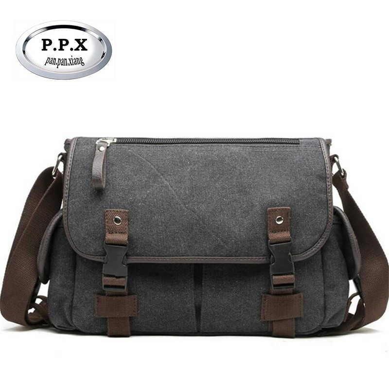 Designer Postman Men s Buisness Crossbody Bags Attache Laptop Case Office  Briefcase Men Messenger Bags Canvas Shoulder 673447986abbe