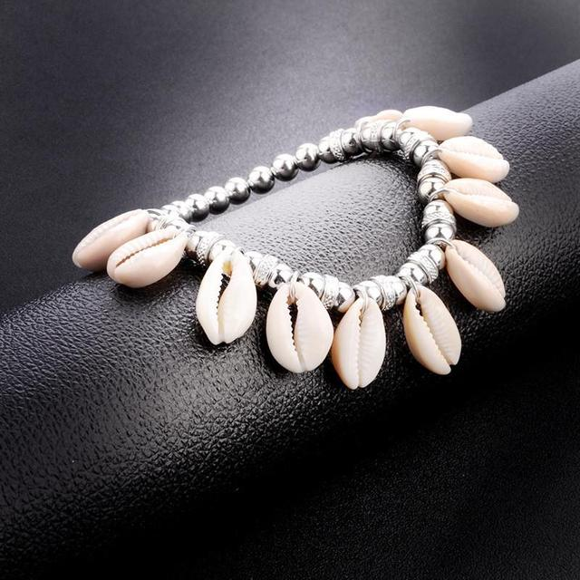 Women's Cowrie Shell Anklet 4