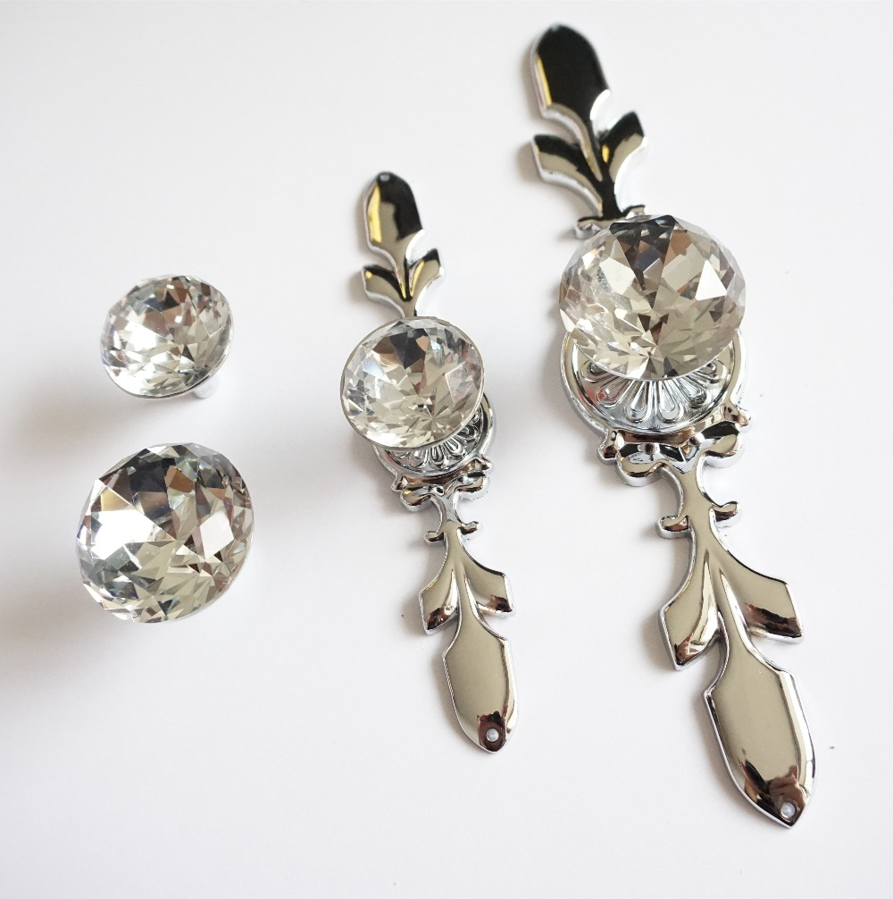 Online Buy Wholesale crystal drawer knobs from China crystal