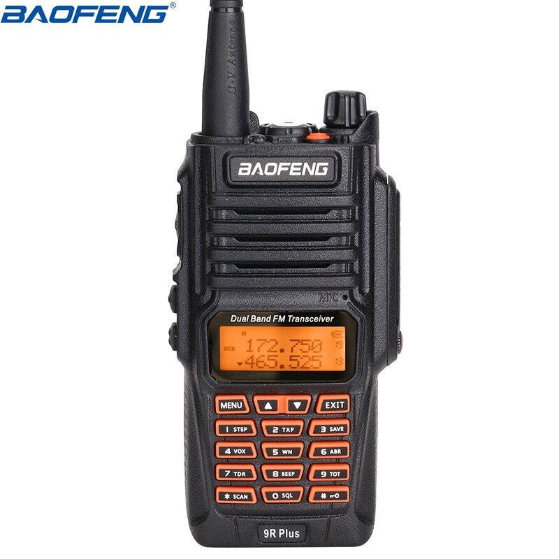 Baofeng UV 9R Plus 8W Power IP67 Waterproof Dustproof Walkie Talkie Two Way Radio Dual Band