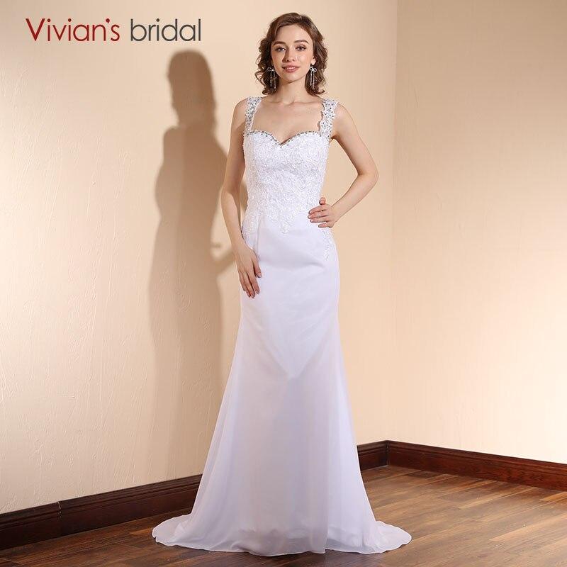 Aliexpress.com : Buy Simple White Mermaid Wedding Dress