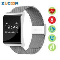 Smart Wristband Band Blood Pressure Oxygen X9 Plus Heart Rate Monitor Bracelet Watch Wristwatch Anti Lost