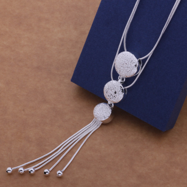 AN499 Hot 925 sterling silver Necklace 925 silver fs