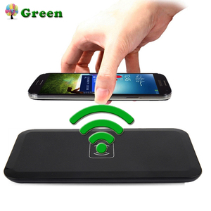 Smart Qi Wireless Charger For Samsung Galaxy S8 S7 S6 edge Wireless Charging Pad For iPhone X 8 Plus Nokia Lumia 1520 930 920(China)