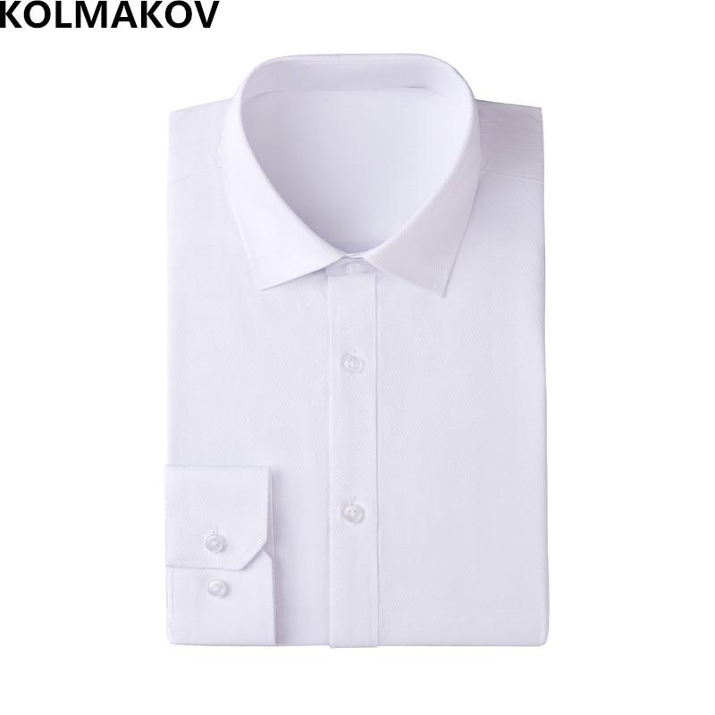 KOLMAKOV Long Sleeve Shirts Men's classic Formal Sh